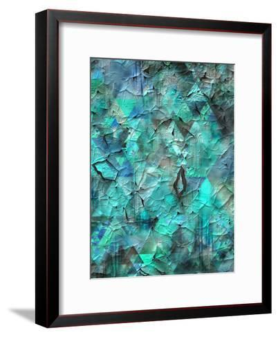 Triangles Abstract Pattern 28-Grab My Art-Framed Art Print