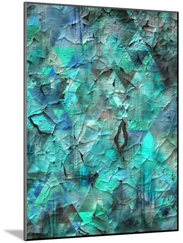 Triangles Abstract Pattern 28-Grab My Art-Mounted Art Print