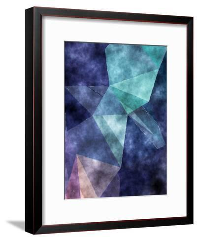 Triangles Abstract Pattern 5-Grab My Art-Framed Art Print