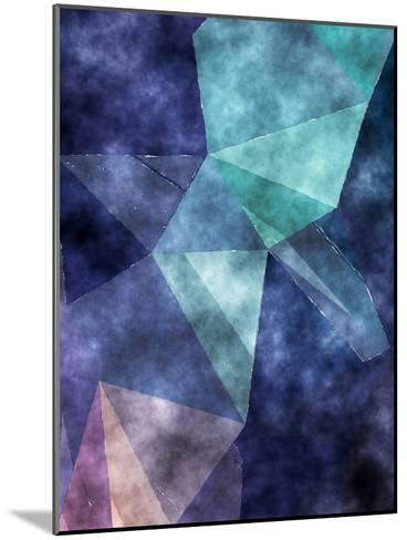 Triangles Abstract Pattern 5-Grab My Art-Mounted Art Print