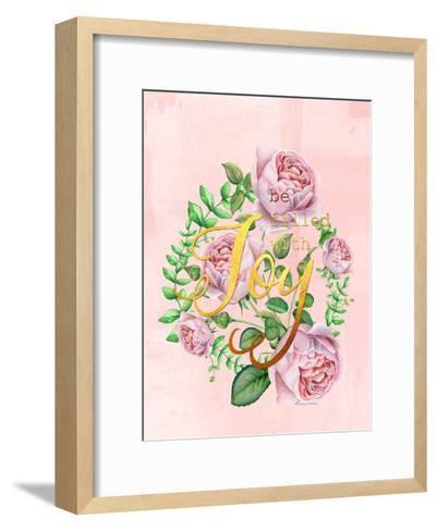 Be Filled With Joy-Grab My Art-Framed Art Print