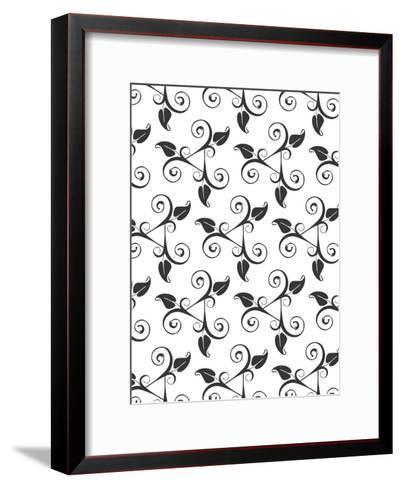 Floral Pattern Style-Wonderful Dream-Framed Art Print
