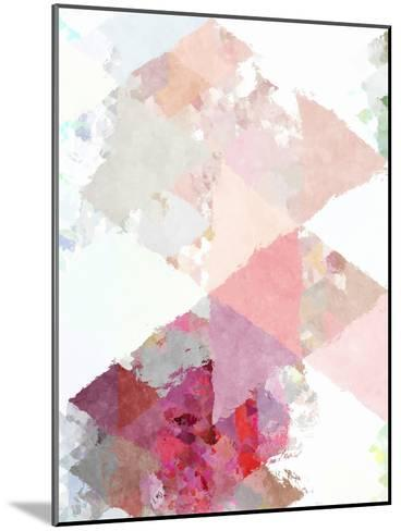 Triangles Abstract Pattern 11-Grab My Art-Mounted Art Print