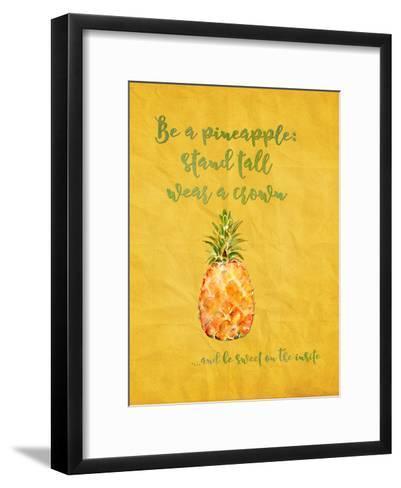 Pineapple Fruit Summer-Grab My Art-Framed Art Print
