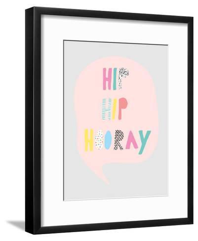 Hiphip-Nanamia Design-Framed Art Print