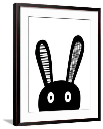 Bunnyselfie-Nanamia Design-Framed Art Print