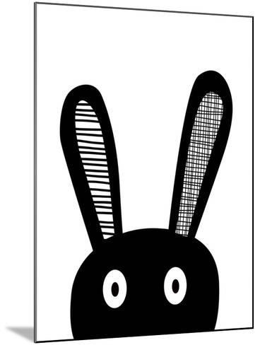 Bunnyselfie-Nanamia Design-Mounted Art Print
