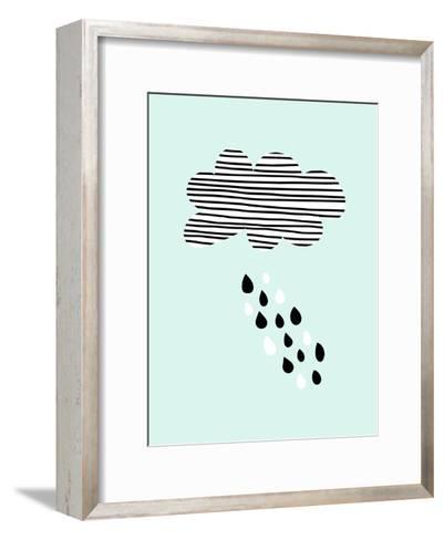 Cloud-Nanamia Design-Framed Art Print