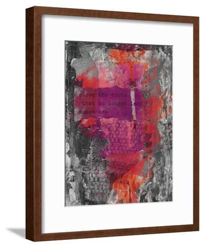 Close The Door-Lebens Art-Framed Art Print