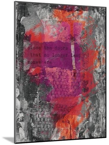 Close The Door-Lebens Art-Mounted Art Print