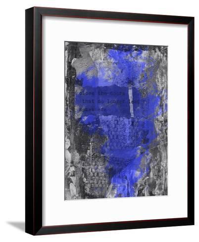Close The Door 2-Lebens Art-Framed Art Print