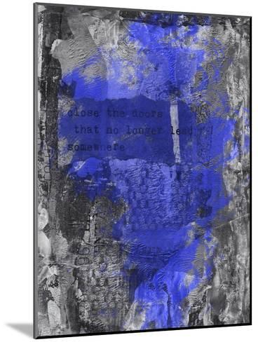 Close The Door 2-Lebens Art-Mounted Art Print