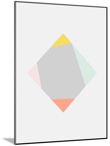 Square-Nanamia Design-Mounted Art Print