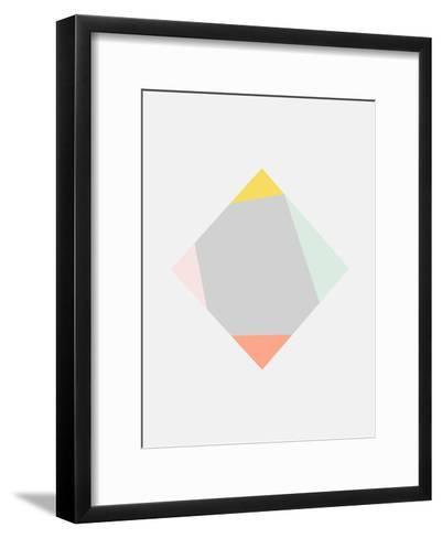 Square-Nanamia Design-Framed Art Print
