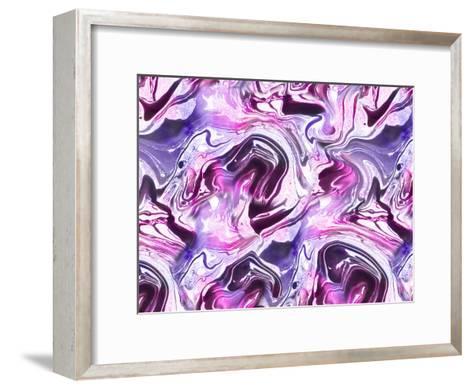 Marble-Lebens Art-Framed Art Print