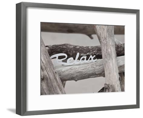 Relax At The Beach-Lebens Art-Framed Art Print