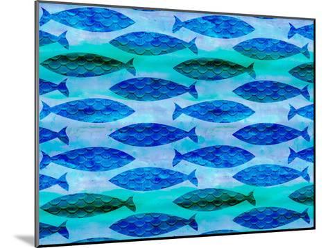 Fish Pattern-Lebens Art-Mounted Art Print