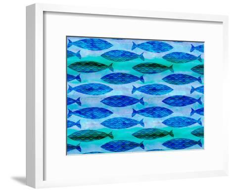 Fish Pattern-Lebens Art-Framed Art Print