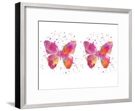 Butterfly 6-Lebens Art-Framed Art Print