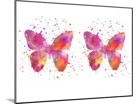 Butterfly 6-Lebens Art-Mounted Art Print