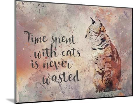 Cat 2-Lebens Art-Mounted Art Print