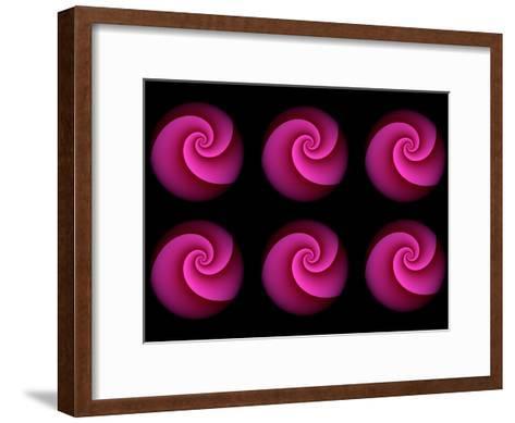 Spiral Pattern-Lebens Art-Framed Art Print