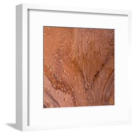 Copper Strata-Lis Dawning Scott-Framed Art Print