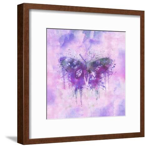 Butterfly - Square 3-Lebens Art-Framed Art Print