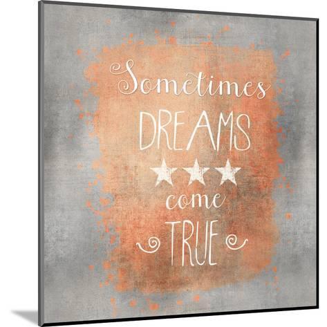 Dreams Come True - Square-Lebens Art-Mounted Art Print