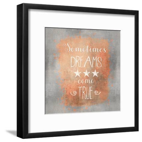 Dreams Come True - Square-Lebens Art-Framed Art Print