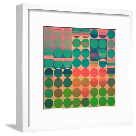 Whych-Spires-Framed Art Print