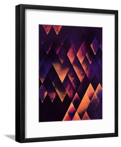 Cyve Lyfe-Spires-Framed Art Print