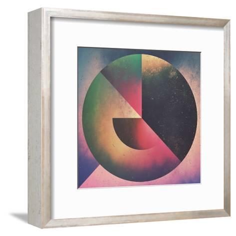 1Rwwnd_Pillow-Spires-Framed Art Print