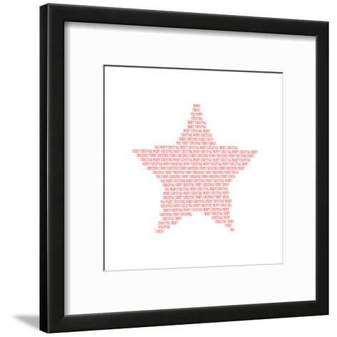 Merry Christmas-Melanie Viola-Framed Art Print