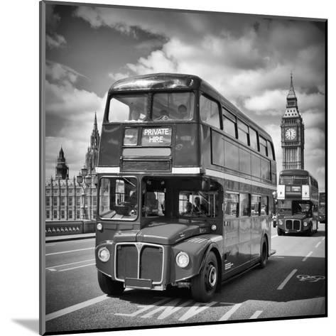 London Classical Streetscene-Melanie Viola-Mounted Art Print