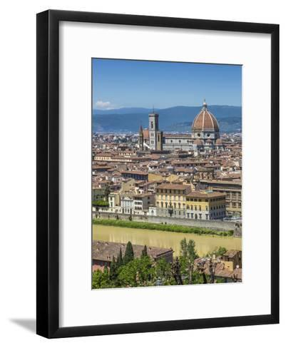 Florence Cathedral And Old Town-Melanie Viola-Framed Art Print