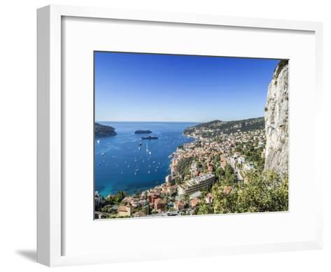 Cote Dazur Villefranche-Sur-Mer-Melanie Viola-Framed Art Print