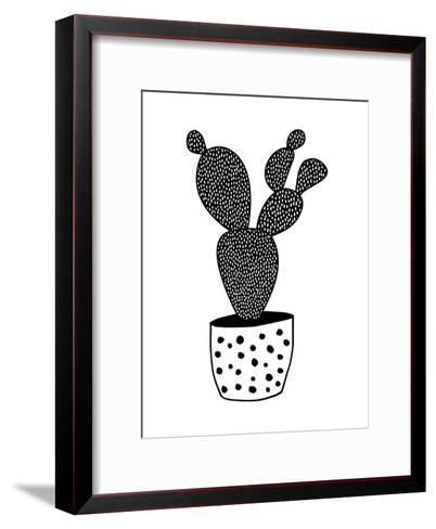 Cactus-Nanamia Design-Framed Art Print