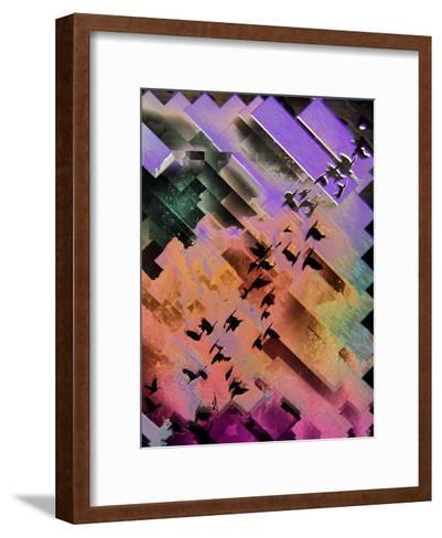 Dygybyrd-Spires-Framed Art Print