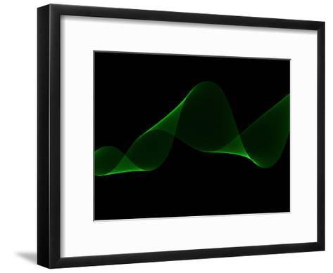 Green Swirl-Melanie Viola-Framed Art Print