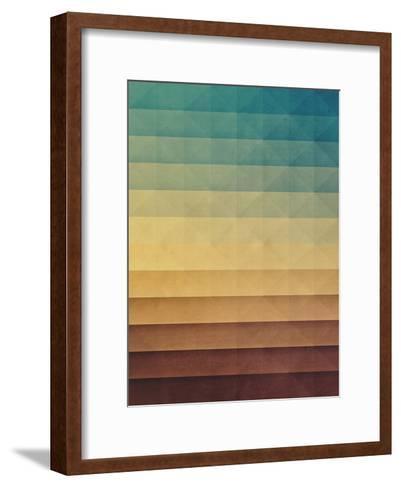 Rwwtlyss-Spires-Framed Art Print