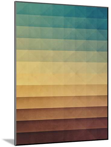 Rwwtlyss-Spires-Mounted Art Print
