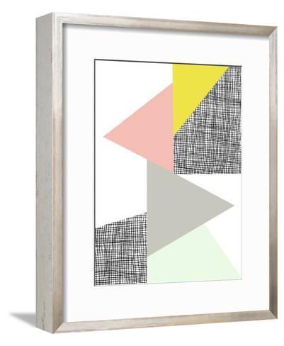 Triangle-Nanamia Design-Framed Art Print