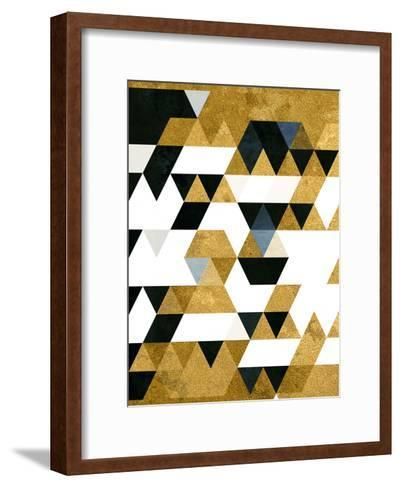 Gyldyn Yge-Spires-Framed Art Print