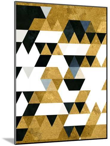Gyldyn Yge-Spires-Mounted Art Print