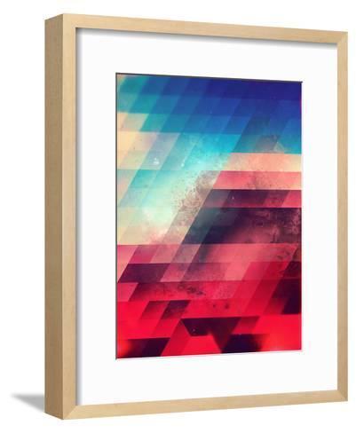 Skylyyn Crysh-Spires-Framed Art Print