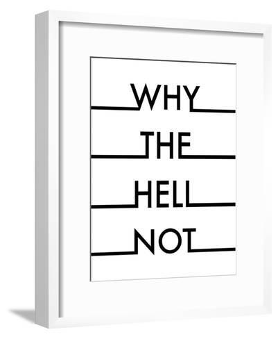 Hell-Nanamia Design-Framed Art Print