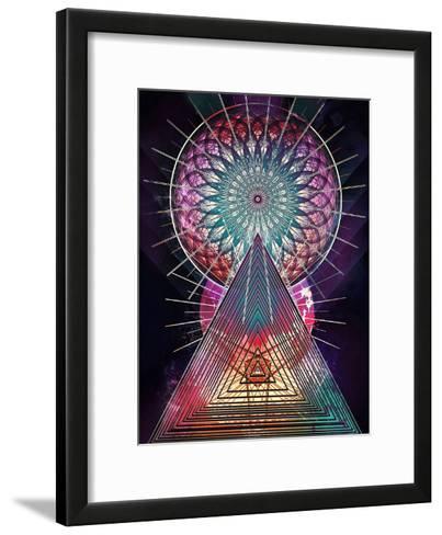 Trww Cythydryl-Spires-Framed Art Print
