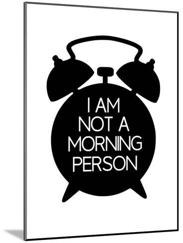 Morning-Nanamia Design-Mounted Art Print