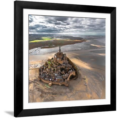 Mont-Saint-Michel-Philip Plisson-Framed Art Print